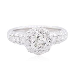 18KT White Gold 1.76 ctw Diamond Ring