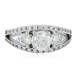 14KT White Gold 1.98 ctw Diamond Ring