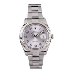 Gents Rolex Stainless Steel DateJust II Wristwatch