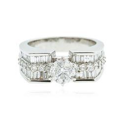 18KT White Gold 2.30 ctw Diamond Ring