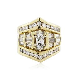 14KT Yellow Gold 2.16 ctw Diamond Ring