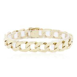 14KT Yellow Gold Curb Link Bracelet