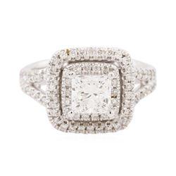 14KT White Gold EGL Certified 1.94 ctw Diamond Ring