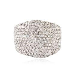 14KT White Gold 3.68 ctw Diamond Ring
