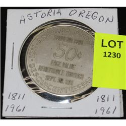 ASTORIA OREGON SESQUICENTENNIAL  1811-1961