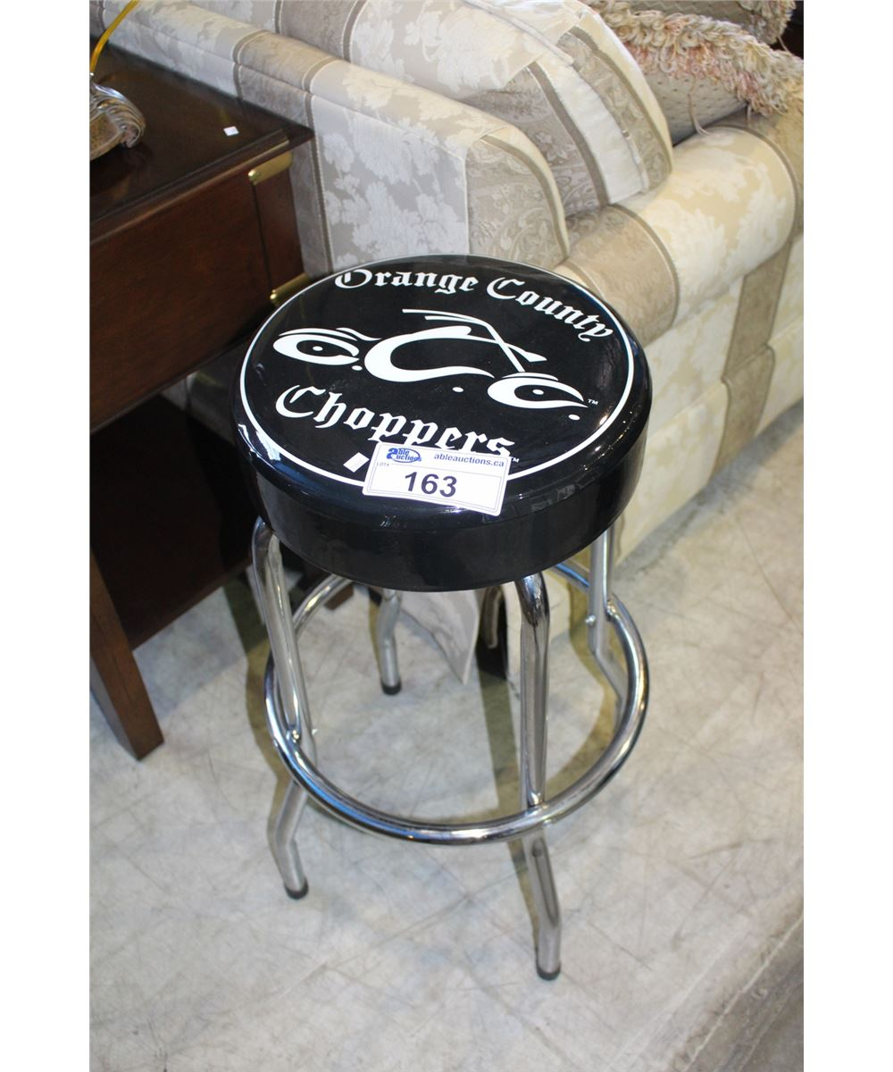 Orange county choppers bar stool loading zoom