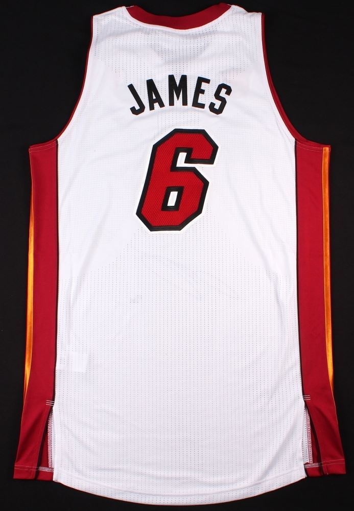 Lebron James Signed Limited Edition Miami Heat Authentic Back To Back Finals Mvp Adidas Jersey Uda