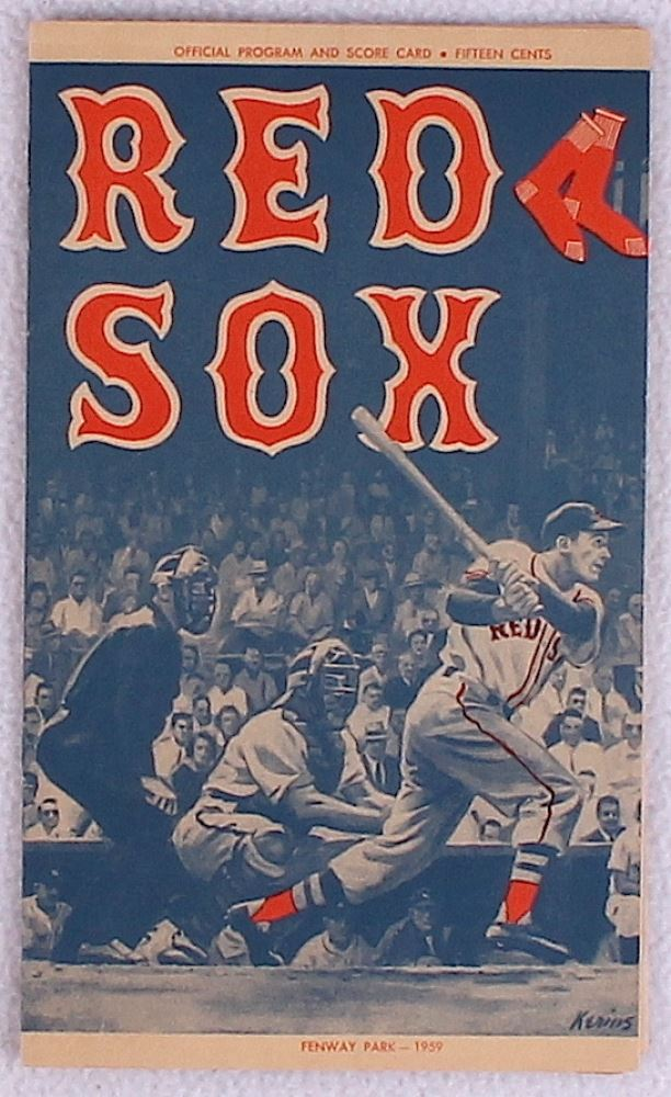 vintage 1959 boston red sox official
