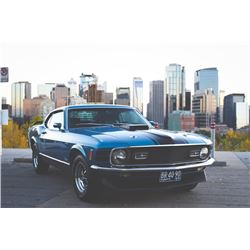 3 PM FEATURE! 1970 FORD MUSTANG MACH I R CODE 428 COBRA JET FASTBACK