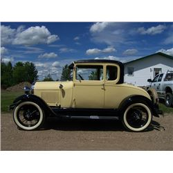 1928 FORD MODEL A - RUMBLE SEAT