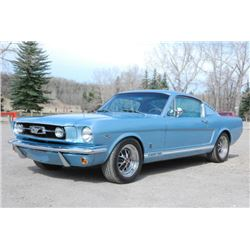 1966 FORD MUSTANG GT FASTBACK A CODE 4 SPEED!!!