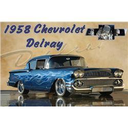 1958 CHEVROLET DELRAY CUSTOM COUPE