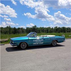 1963 CHRYSLER 300 CONVERTIBLE PACE CAR