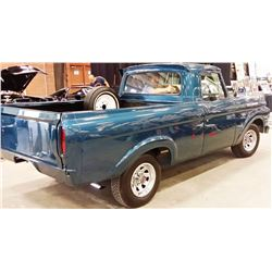 1966 FORD F 100 TWIN BEAM UNIBODY PICKUP COMPLETE RESTORATION