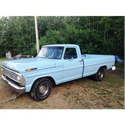 1968 FORD F100 PICKUP 4 SPEED