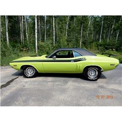 3:00PM SATURDAY FEATURE! 1971 DODGE CHALLENGER RT