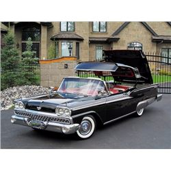 3:45PM SATURDAY FEATURE! 1959 FORD SKYLINER RETRACTABLE CONVERTIBLE