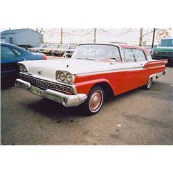 1959 FORD GALAXIE 2-DR HARD TOP