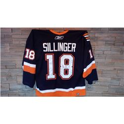 New York Islanders Sillinger Autographed Jersey and Lunch Date with Mike at our BP South Regina loca