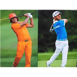 Graham Delaet and Rickie Fowler canvases  Donated By: Garth Hilts, Franchisee