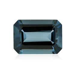 40.23 ctw. Natural Emerald Cut Blue Topaz