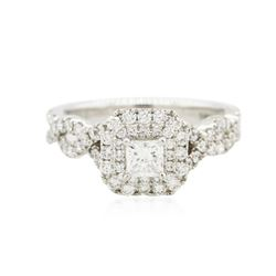 14KT White Gold 1.00 ctw Diamond Ring