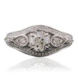 18KT White Gold 2.19 ctw Diamond Ring