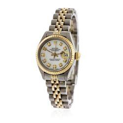 Ladies Rolex Two-Tone DateJust Wristwatch