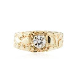 10KT Yellow Gold 0.33 ctw Diamond Ring
