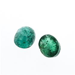 4.17 cts. Oval Cut Natural Emerald Parcel