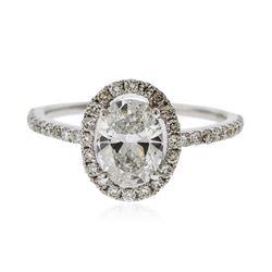 14KT White Gold 1.42 ctw Diamond Ring