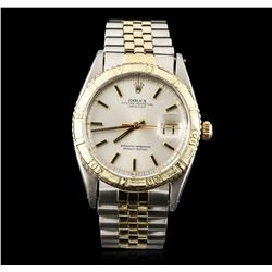 Rolex Two-Tone DateJust Thunderbird Wristwatch