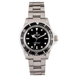 Gents Rolex Stainless Steel Submariner Wristwatch