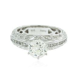 18KT White Gold 2.06 ctw Diamond Ring
