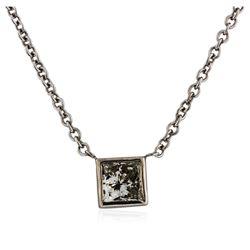 14KT White Gold 0.41 ctw Diamond Necklace
