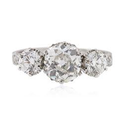 Platinum 1.21 ctw SI-1/H Diamond Ring