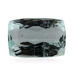 8.34 ctw Cushion Cut Natural Cushion Cut Aquamarine