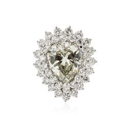 14KT White Gold 9.34 ctw Diamond Ring