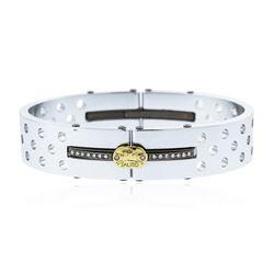 Sauro Stainless Steel Bangle Bracelet