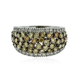 18KT Two-Tone Gold 2.29 ctw Diamond Ring