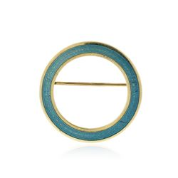 14KT Yellow Gold Brooch
