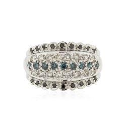 14KT White Gold 0.62 ctw Diamond Ring