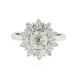 14KT White Gold 2.01 ctw Diamond Ring