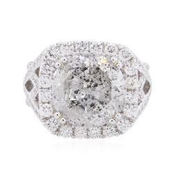 18KT White Gold 8.40 ctw Diamond Ring