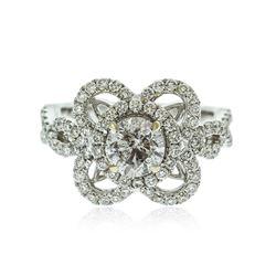 18KT White Gold 2.08 ctw Brilliant Cut Diamond Ring