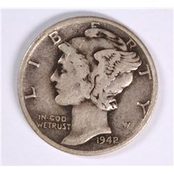 1942 one dime coin value