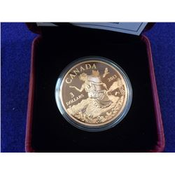 3 dollars  2013 Bronze Miss Canada: an Allegory in case with box and COA.