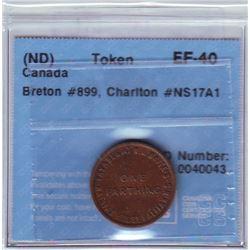 Breton # 899, Charlton # NS-17A1, CCCS EF-40, 1 Farthing Halifax House.