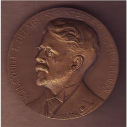 Medal; Honorable Cyrille F. Delage Surintendant de l'instruction Publique, Département de l'instruct