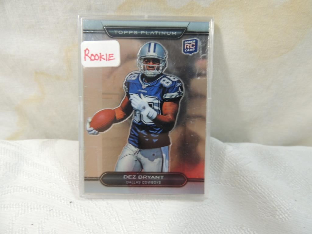 2010 Topps Dez Bryant 152 Rookie Card